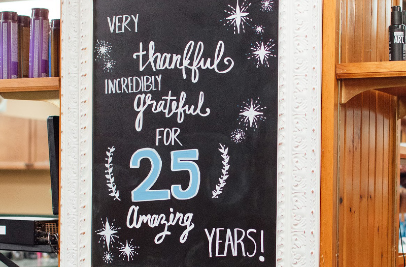 Thankful for 25 Amazing Years